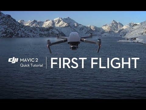 First Flight with Mavic 2 (Beginner Tutorial)