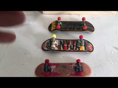 differences between the original Tech Deck to a Newest 2019 version one plus a Fingerboard!!