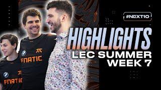 LEC : highlight de la semaine 7 des Fnatic « Like a PUNCH in the BALLS! »