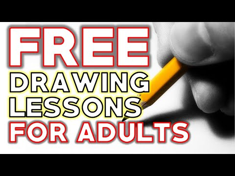 Learn to Draw for Adults | Free Online Drawing Lessons for Beginners