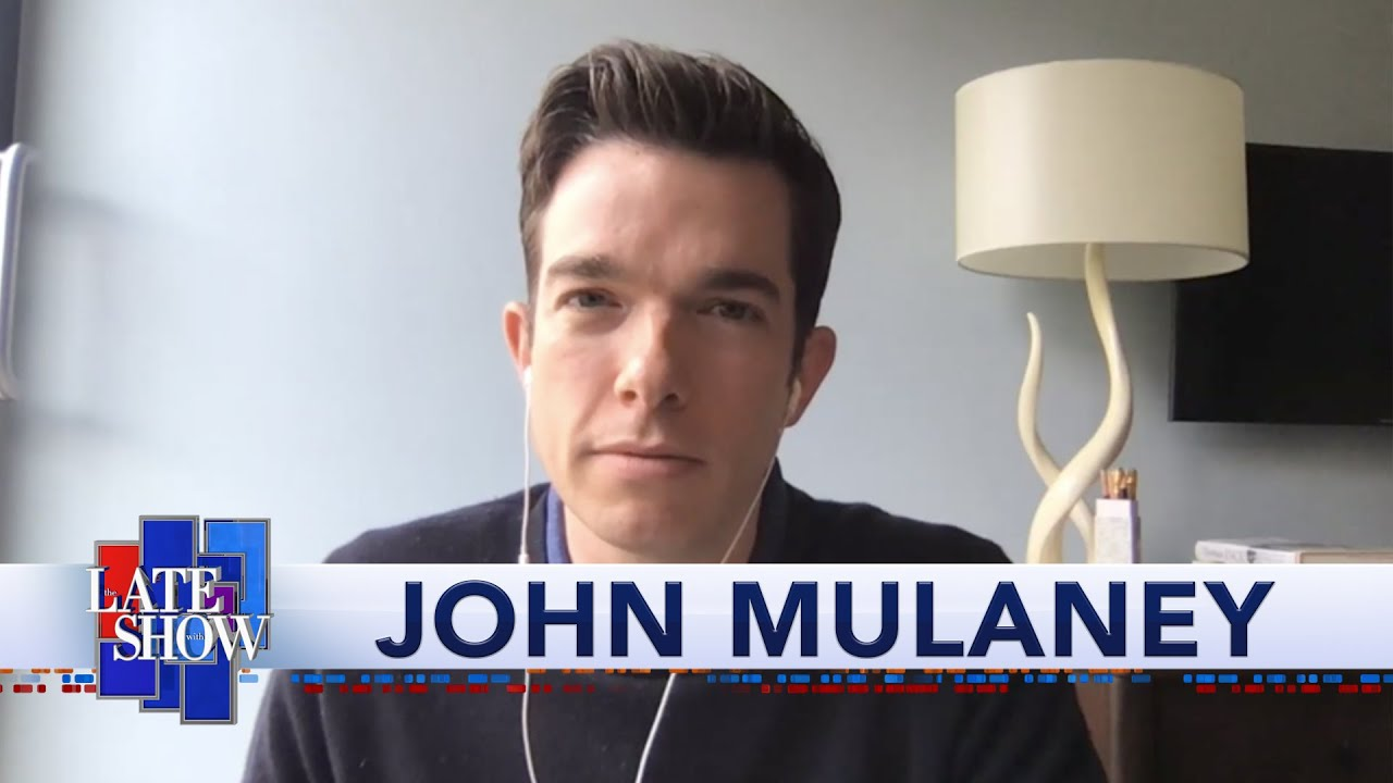 John Mulaney Compares Quarantine Dreams With Stephen Colbert thumbnail