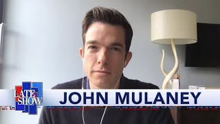 John Mulaney Compares Quarantine Dreams With Stephen Colbert