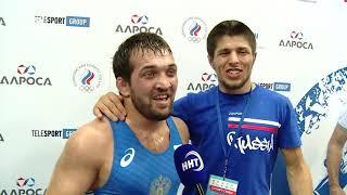 Магомед Курбаналиев вырывает победу в финале чемпионата России 2019 по вольной борьбе