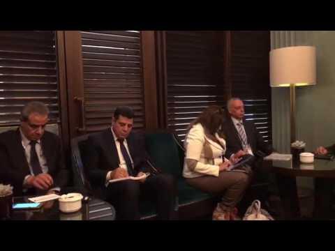 تصريحات الوزير/طارق قابيل للوفد الاعلامى المرافق للرئيس السيسى بألمانيا