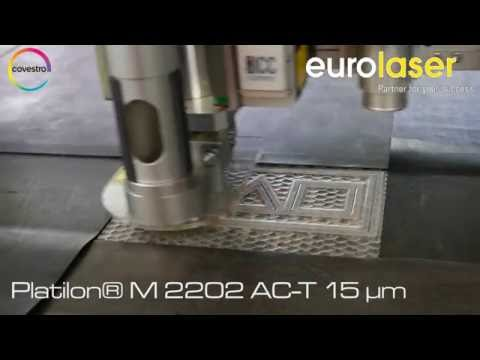 Platilon® | Laser cutting test