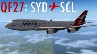 [FS9] QF27 | Sydney ✈ Santiago