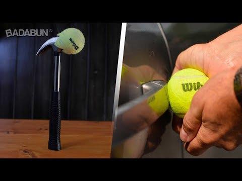 7 Trucos increíbles con pelotas de tenis