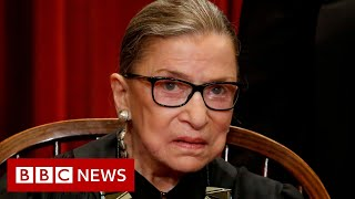 Ruth Bader Ginsburg death: Trump to nominate woman to fill Supreme Court seat - BBC News