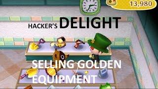 ACNL: Hacker's Delight Part 2: Selling Golden Equipment