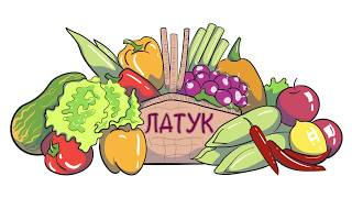 """Дудлвидео для рекламы услуги доставки овоще и фруктов """"Латук"""""""