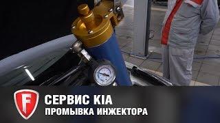 Промывка инжектора у официального дилера FAVORIT MOTORS