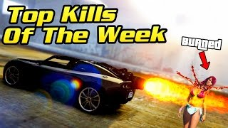 TOP 10+ KILLS OF THE WEEK IN GTA ONLINE (Funny & Awesome Kills)