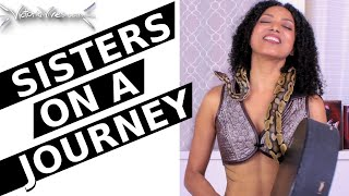Youtube with Victoria Vives DIVINE FEMININE Medicine Song | SISTERS ON A JOURNEY | * SNAKE * sharing on Become Your Divine Self