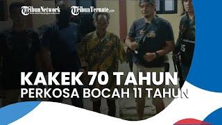 Seorang Kakek 70 Tahun Cabuli Bocah 11 Tahun, Modusnya Diimingi Uang lalu Disuruh Masuk Kamar Mandi