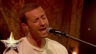 Coldplay Perform 'Everyday Life' LIVE!   The Graham Norton Show