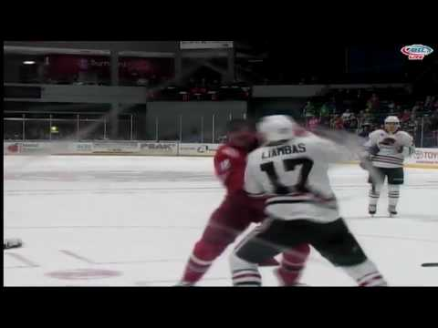Mike Liambas vs. Kyle Hagel