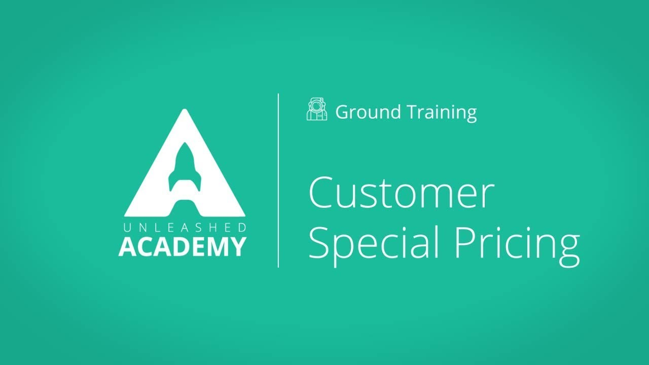 Customer Special Pricing YouTube thumbnail image