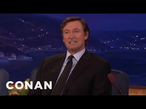 Wayne Gretzky Remembers Gordie Howe  - CONAN on TBS