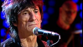 Ronnie Wood with Bernard Fowler,Wayne Sheehy and House band live late late