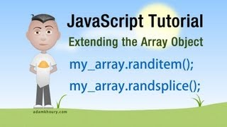 JavaScript Get or Remove Random Array Elements Tutorial