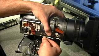 Sony HDR-FX1 firewire port repair