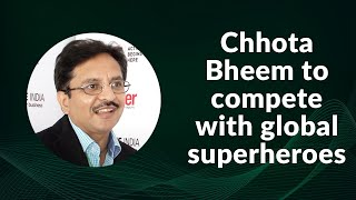 Chhota Bheem to compete with global superheroes...