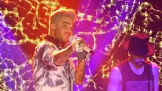 These Boys, Adam Lambert, Live, Manchester Academy, 16th April 2016