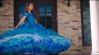 Cinderella Dress - Wearing Princess Ellas Ballgown - Live-Action 2015