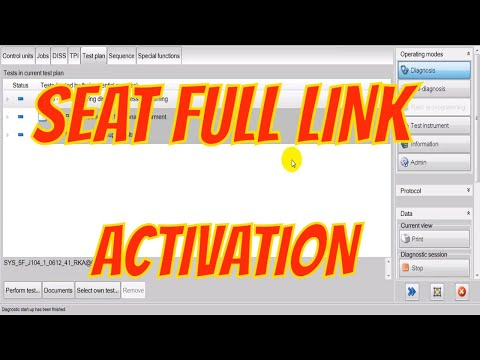 """ODIS - Seat Leon Activation of """"Full Link"""""""