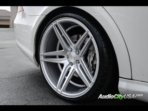 "Mercedes Benz CLS 63 AMG On 20"" Rohana Wheels"