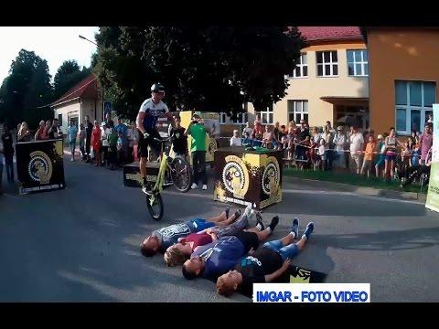 Ján Kočiš na kolesách proti rakovine v Hnúšti