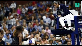 US Open: Serena Williams accuse l'arbitre de