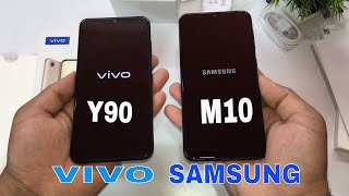 Vivo Y90 Vs Samsung M10 Unboxing+Compare in Hindi