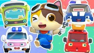 Busy Mechanic Rescue Team   Doctor Cartoon, Fire Truck   Nursery Rhymes   Kids Songs   BabyBus
