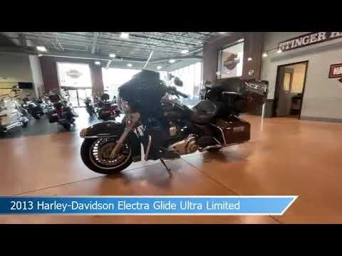 2013 Harley-Davidson<sup>®</sup> Electra Glide® Ultra Limited BRONZE/ANN BLK W/ PINSTRIPE