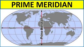 Countries Passing Through Prime Meridian I Trick to Remember
