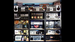 My boombox / ghettoblaster collection Vela DK-990R, Sharp VZ-2500 Panasonic RX-A2 Sony CFS-88 & more