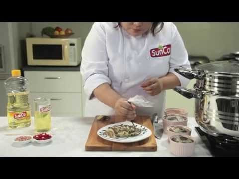 Video [ Dapur SunCo ] Bolu Kukus Zebra - Chef Santiana