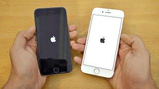 iPhone 7 vs iPhone 6S - Speed Test! (4K)
