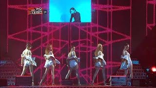 【TVPP】KARA - Pandora (with House Rulez), 카라 - 판도라 (with 하우스룰즈) @ 2012 Korean Music Festival Live