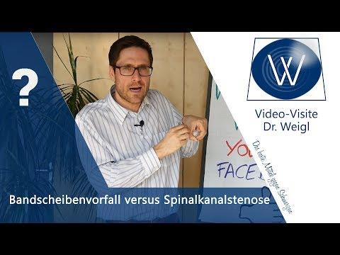 Chondros der Halswirbelsäule die Symptome und die Behandlung