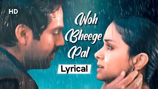 Woh Bheege Pal (Lyrical) | Manorama Six Feet   - YouTube