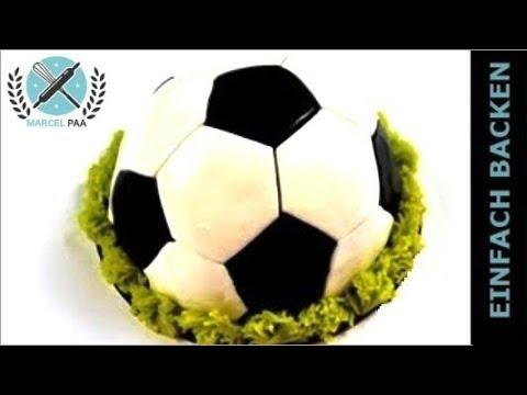 Fussball Torte | 3D Torte schnell und einfach