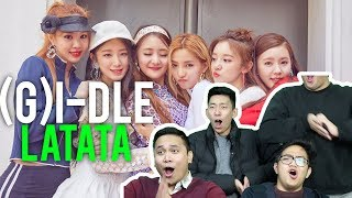 "(G)I-DLE | ""LATATA"" (MV Reaction) #amaaaazing"
