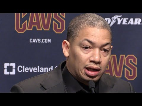 Tyronn Lue on rotations with  a healthy Cavs lineup