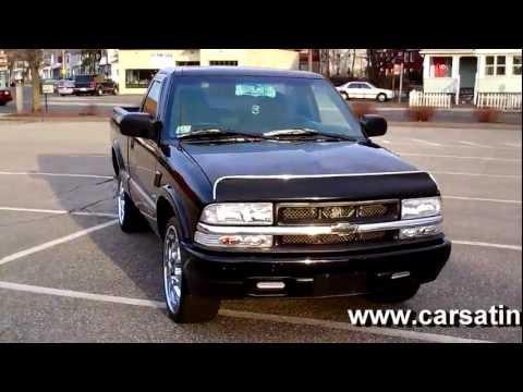 "1999 Chevrolet S10 REG CAB PICKUP 4CYL MT 20"" CHROME WHEELS"