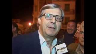 preview picture of video 'L'ARRIVO DI VITTORIO SGARBI A LU SANTU PATRI  A SALEMI'