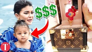 20 Most Expensive Things Bought For The Kardashian Kids