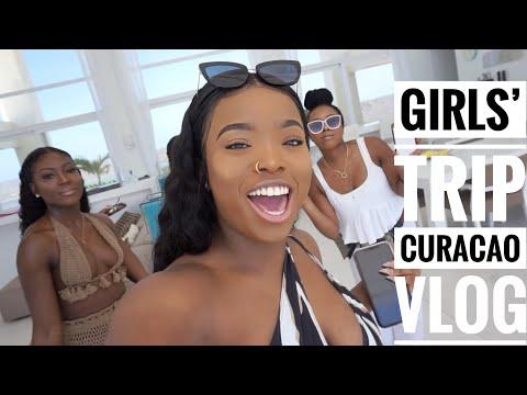 CURACAO VLOG: Girls Trip || Gifty's 24th birthday turn up || Luxury Villa || ATV etc