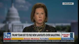 Szef sztabu Nancy Pelosi jest dyrektorem naczelnym, a mąż Feinsteina udziałowcem w Dominion-nagranie w j.angielskim